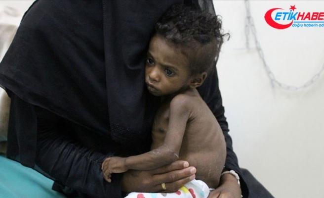 UNICEF'ten 2019'da 350 bin Yemenliye insani yardım