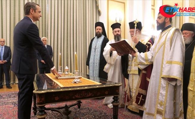 Yunanistan'da yeni başbakan Miçotakis görevi Çipras'tan devraldı