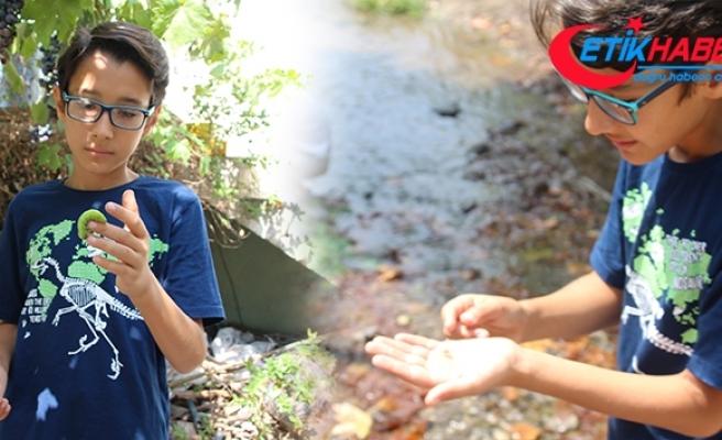 12 yaşındaki çocuk çektiği hayvan videoları ile fenomen oldu