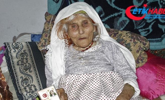 1915 doğumlu Durdu Nine uzun yaşamanın sırrını anlattı
