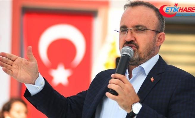 AK Parti Grup Başkanvekili Turan: CHP, bugün HDP'nin taklidi haline geldiğini ortaya koydu