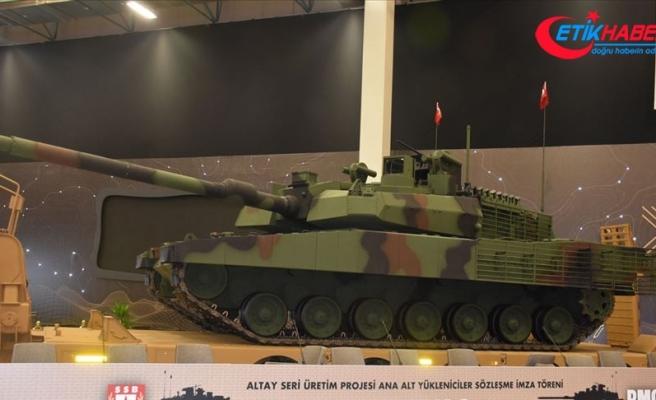 'Altay tankının önemli görev yükünü ASELSAN sağlayacak'
