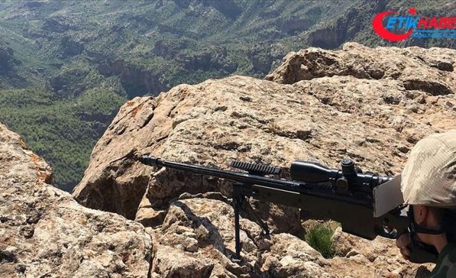 Askerleri yaralayan terörist Jandarma ve MİT'in ortak operasyonuyla etkisiz hale getirildi