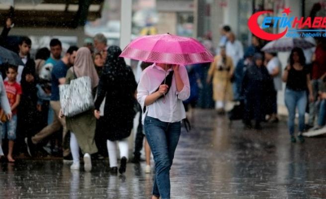Bu illerde yaşayanlar dikkat! Kuvvetli yağış geliyor