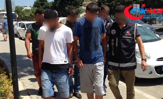 Çeşme'de insan kaçakçılarına darbe: 6 tutuklama