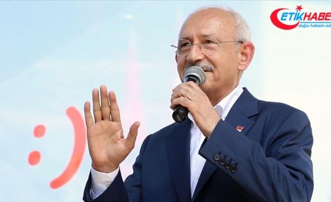 CHP Genel Başkanı Kılıçdaroğlu: Az oy alıyorsak kabahat vatandaşta değil, bizdedir