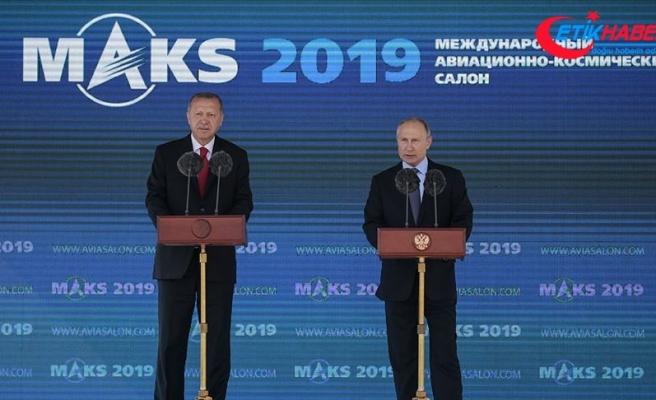 Cumhurbaşkanı Erdoğan: Havacılık alanında önemli hamlelere imza atıyoruz