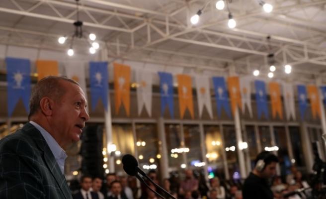 Cumhurbaşkanı Erdoğan: Önce millet, önce memleket' diyen herkesle çalışmaya hazırız
