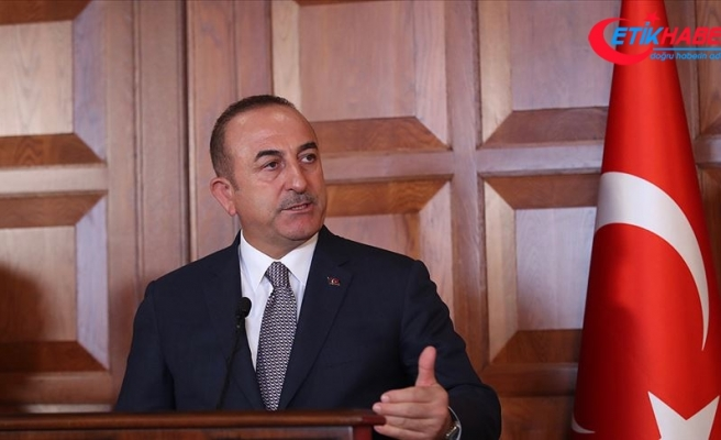 Çavuşoğlu: Fırat'ın doğusunda atıldığı söylenen adımlar kozmetik adımlardır