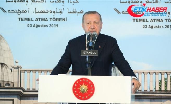 Erdoğan: Mazlumlar için kapılarımız da kalbimiz de sonuna kadar açık olmuştur