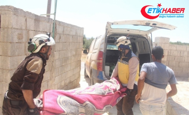 Esad rejiminden İdlib'e hava saldırısı: 4 ölü, 5 yaralı