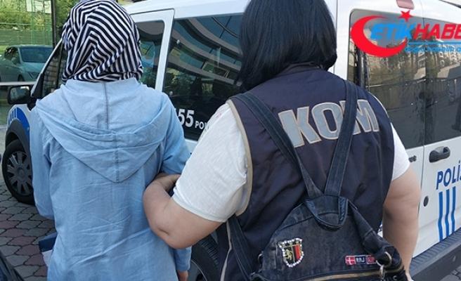 FETÖ'nün örgüt evinde yakalanan kadın tutuklandı