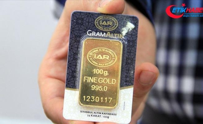 Gram altın 259,8 lira seviyelerinde