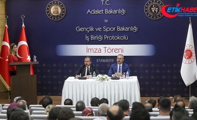 Hükümlü ve tutuklulara yönelik iş birliği protokolü imzalandı