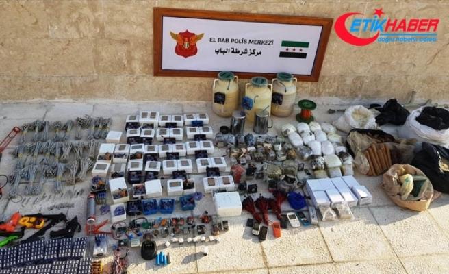 Jandarma ve MİT'ten Bab'da DEAŞ'a darbe