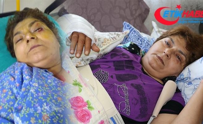 Kayınbiraderi baltalı dehşeti yaşattı: 'Yaşam hakkım elimden alınmasın'