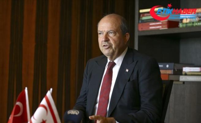 KKTC Başbakanı Tatar: Türkiye Doğu Akdeniz'deki çalışmalar konusunda kararlı