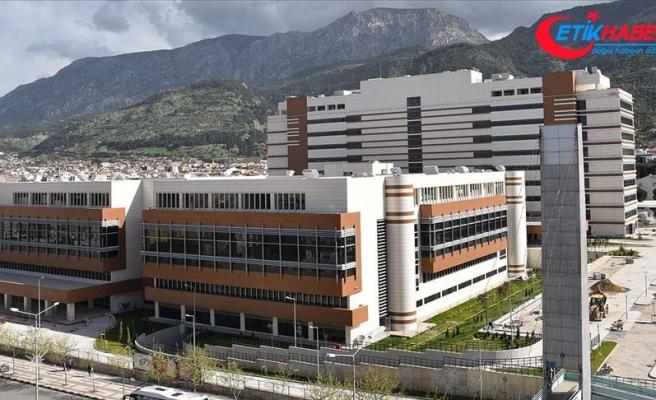 Manisa Şehir Hastanesi 9 ayda 1 milyon hastaya şifa dağıttı