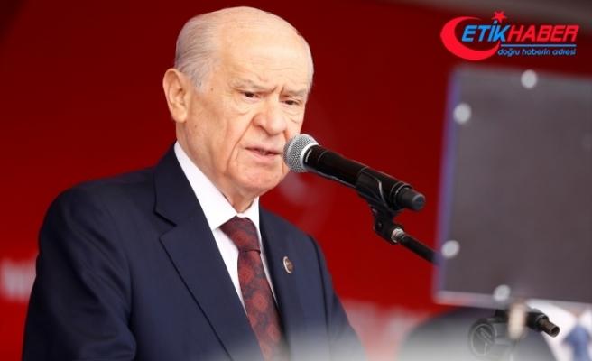 MHP Lideri Bahçeli'den Süleyman Soylu'ya tebrik