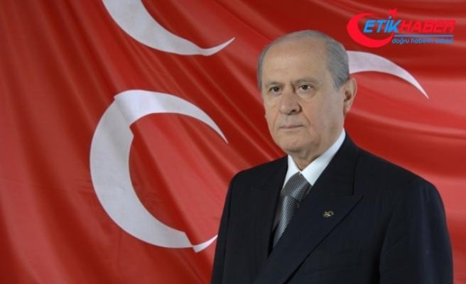 MHP Lideri Bahçeli: İhanet kaybedecek, iman mutlaka kazanacaktır