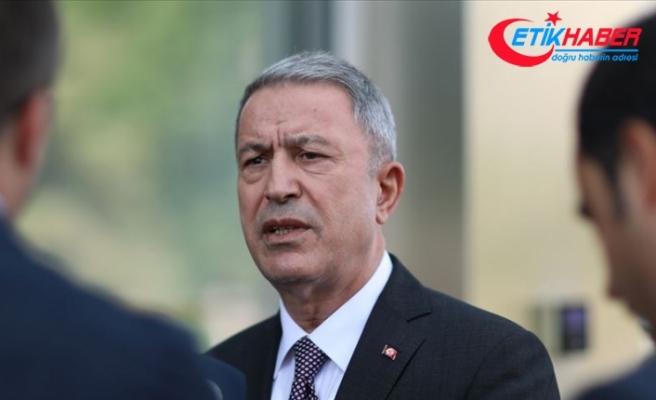Milli Savunma Bakanı Akar: ABD heyetiyle toplantılar olumlu, oldukça yapıcı geçti
