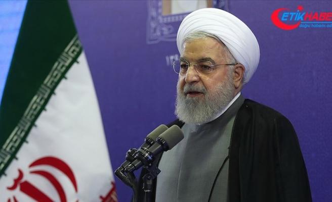 Ruhani'den ABD'ye müzakere çağrısı ve savaş uyarısı