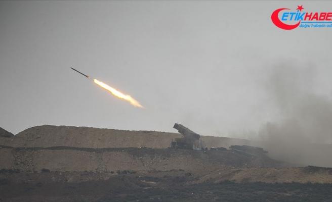 Terör örgütü PKK'ya ait hedefler vuruluyor
