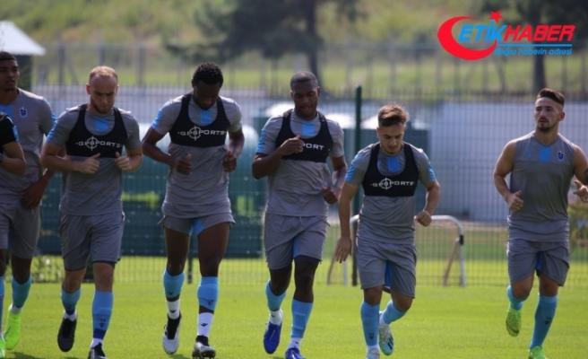 Trabzonspor'un yeni transferi Sturridge, takımla ilk antrenmanına çıktı