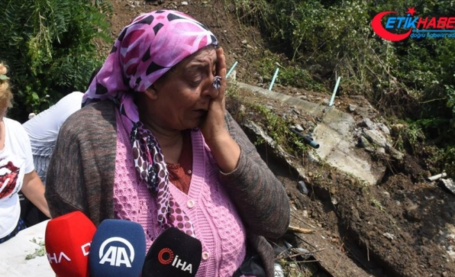 Zonguldak'taki sağanağın ardından ev ve iş yerilerini su bastı