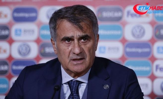 A Milli Takım Teknik Direktörü Güneş: Fransa ile final maçı oynamak istiyoruz
