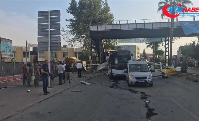 Adana'da terör saldırısı: 5 yaralı