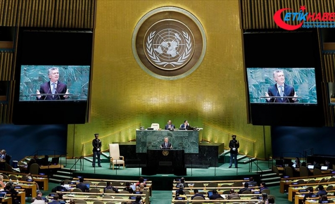 Arjantin Devlet Başkanı Macri: Dünyanın tehdit değil fırsat olduğu inancıyla çalışıyoruz