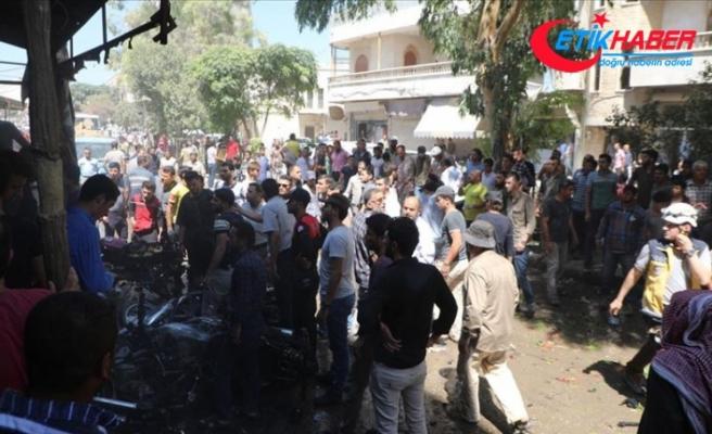 Azez ilçe merkezinde ikinci bombalı saldırı: 5 yaralı