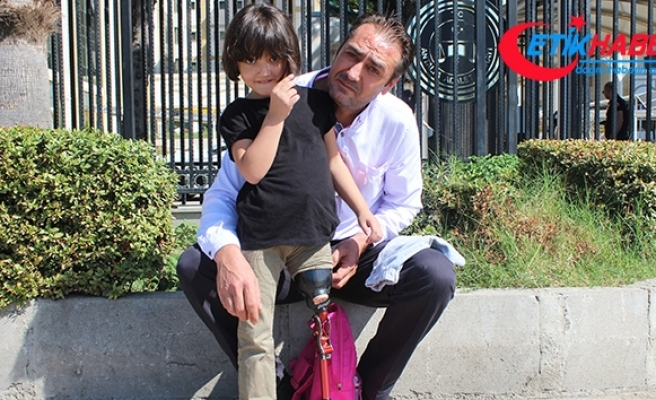Bacağı kesilen minik Özge için verilen takipsizlik kararına baba isyan etti
