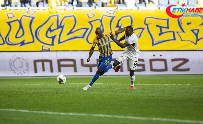Başkent derbisinde kazanan MKE Ankaragücü