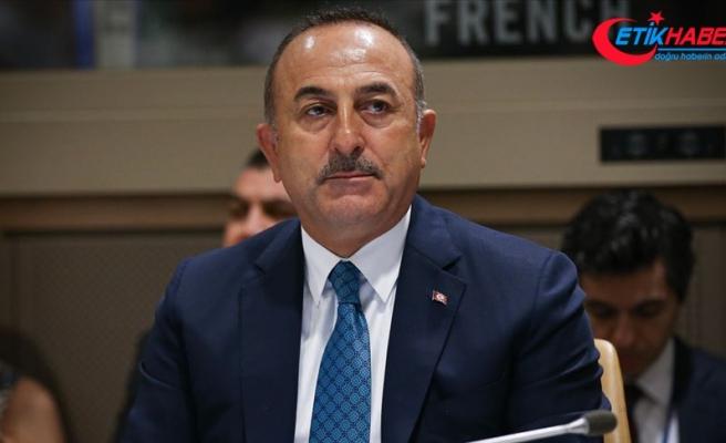 Dışişleri Bakanı Çavuşoğlu İran Dışişleri Bakanı Zarif'le görüştü