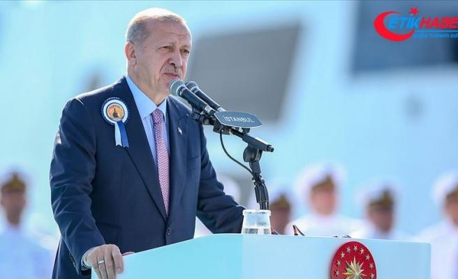 Cumhurbaşkanı Erdoğan: Her alanda yerli ve milli imkanları en üst seviyeye çıkarmakta kararlıyız