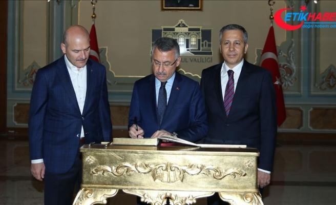 Cumhurbaşkanı Yardımcısı Oktay, İstanbul Valiliğini ziyaret etti