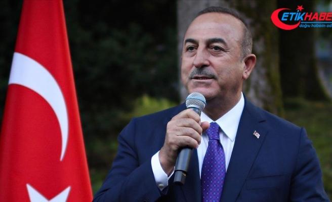 Dışişleri Bakanı Çavuşoğlu: Hiç kimse Doğu Akdeniz'deki faaliyetlerimizi engelleyemez