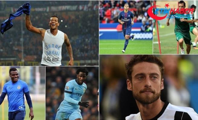 Dünyaca ünlü futbolcular boşta kaldı