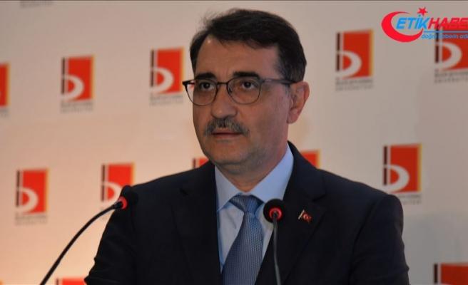 Enerji ve Tabii Kaynaklar Bakanı Dönmez: Bayrağımızı Doğu Akdeniz'in her karışında dalgalandırıyoruz