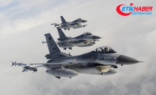 F -16'lar Fırat'ın doğusunda uçuş görevleri icra etti