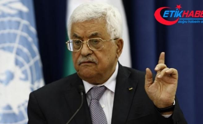 """Filistin Devlet Başkanı Abbas: """"Tarihe Kudüs'ü satan veya vazgeçen biri olarak geçmeyeceğim"""""""