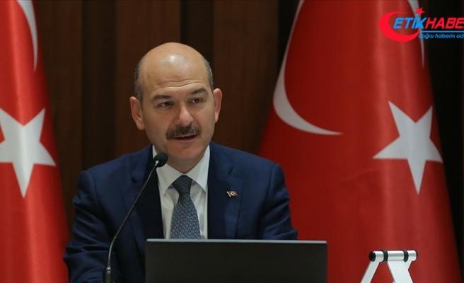 İçişleri Bakanı Soylu: Harekatın temel hedefi terörü tasfiye etmektir