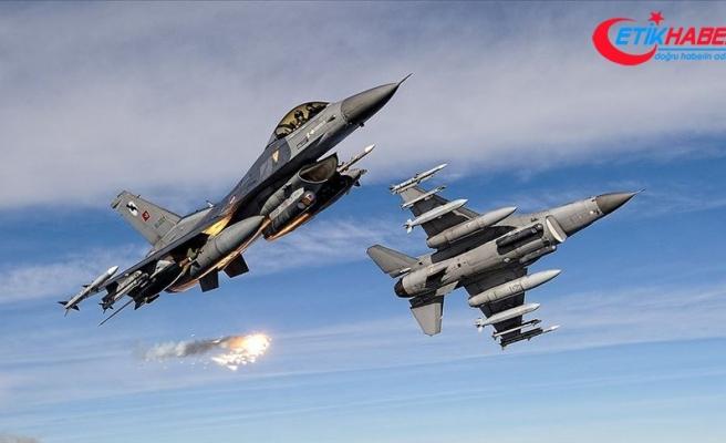 Irak'ın kuzeyinde PKK'lı 7 terörist etkisiz hale getirildi