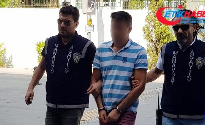 Manavgat Sorgun Çamlığı'nda araçtan para çalan şahıs yakalandı