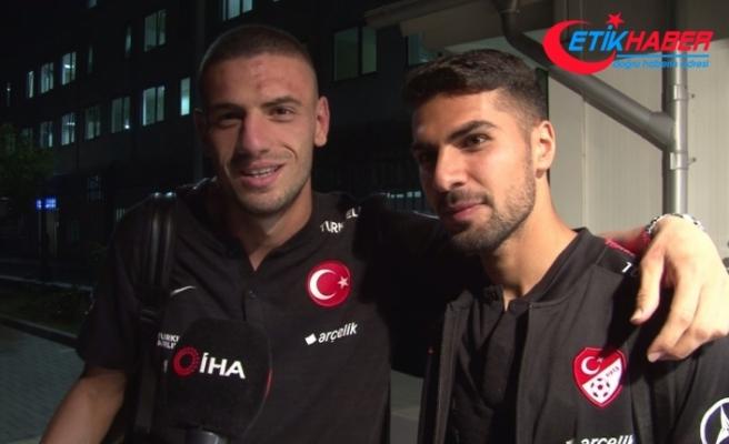 """Merih Demiral ve Zeki Çelik: """"Türkiye'yi Avrupa'da temsil etmekten gurur duyuyoruz"""""""