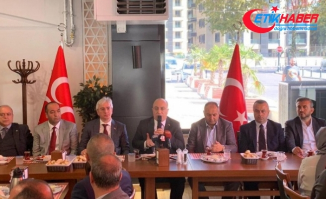MHP'li Yönter: Beraberce felaketlere karşı direneceğiz
