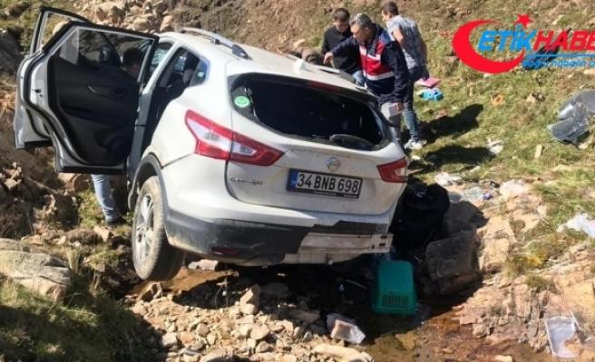 Ölüm yolunda kaza: 1 ölü
