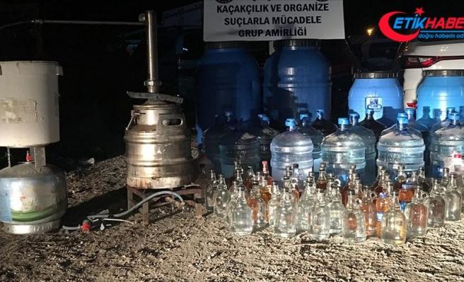 Sahte ve kaçak içki operasyonlarıyla 139 kişiye tutuklama